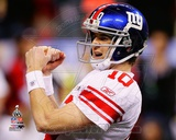 Eli Manning Super Bowl XLVI Photo