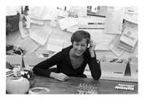 W - May 1976 - Donna Karan Regular Photographic Print by Sal Traina