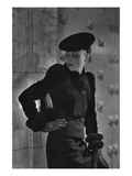 Vogue - September 1935 - Cora Hemmet Modeling Schiaparelli Photographic Print by Horst P. Horst