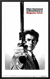 Magnum Force Framed Canvas Print