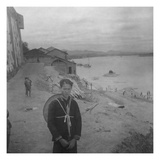 Vogue - July 1945 - Chinese Boy at the Min River Photographic Print by Cecil Beaton