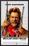 Outlaw Josey Wales Framed Canvas Print