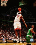 LeBron James 2011-12 Action Photo