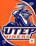 University of Texas El Paso Miners Team Logo Photo