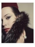 Vogue - September 1959 Regular Photographic Print by Karen Radkai