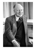 WWD - April 1975 - Sir John Gielgud Premium Photographic Print by Tim Jenkins