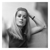WWD - Catherine Deneuve Photographic Print by Nick Machalaba