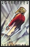 The Rocketeer Framed Canvas Print