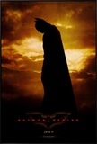 Batman Begins Framed Canvas Print