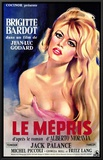 Le Mepris Framed Canvas Print