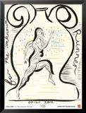 2012 Olympics-Chris Ofili-For the Unknown Runner Prints by Chris Ofili