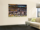 New York Giants and New England Patriots - Super Bowl XLVI - February 5, 2012: Tom Brady Bildetapet av Paul Sancya