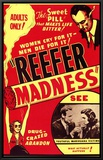 Reefer Madness Framed Canvas Print