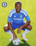 Chelsea-Drogba Head Shot 11/12 Photo