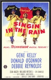 Singin' In The Rain Framed Canvas Print