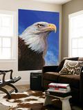 """""""Closeup of Bald Eagle,"""" June 13, 1942 Art by W.W. Calvert"""