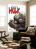 Incredible Hulk No.67 Cover: Hulk Fighting Plakat af Mike Deodato