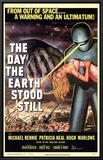 The Day The Earth Stood Still Framed Canvas Print