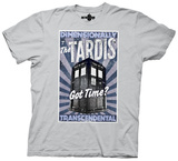 Dr. Who- Dimensionally Transcendental T-shirts