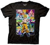 Dragon Ball Z - Character Frame Collage T-shirts