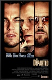 The Departed Framed Canvas Print