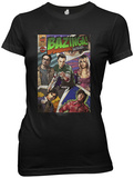 Juniors: The Big Bang Theory - Bazinga Comic Book Cover Shirts