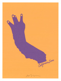 California Love (Laker&#39;s edition) Poster by  Ashkahn