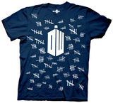 Dr. Who - Tally Marks T-Shirt