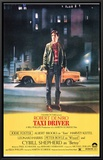 Taxi Driver Framed Canvas Print