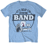 Peanuts - With The Band Camisetas