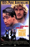Point Break Framed Canvas Print