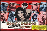 Rocky Horror Picture Show Framed Canvas Print