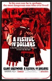 Fistful of Dollars Framed Canvas Print