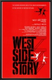West Side Story Framed Canvas Print