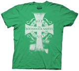 Boondock Saints - Veritas Aequitas Cross T-shirts