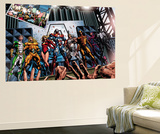 Dark Avengers 1 Group: Marvel Boy Poster by Mike Deodato Jr.