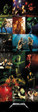 Metallica-Collage Affiches