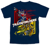 Youth: Transformers - Slider Shirt