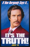 Anchorman: The Legend of Ron Burgundy Framed Canvas Print