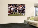 New York Giants and New England Patriots - Super Bowl XLVI - February 5, 2012: Giants v Patriots Wall Mural by Matt Slocum