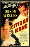 Citizen Kane Impresso em tela emoldurada