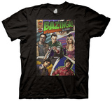 The Big Bang Theory - Bazinga Comic Book Cover T-Shirt