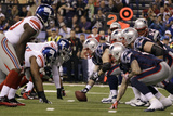 New York Giants and New England Patriots - Super Bowl XLVI - February 5, 2012: Giants v Patriots Photographic Print by Matt Slocum
