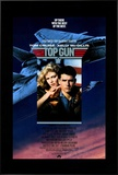 Top Gun Framed Canvas Print