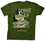 Swamp People - Choot Em Troy and Gator T-Shirt