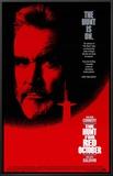 Caçada ao Outubro Vermelho Impressão em tela emoldurada