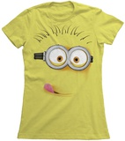 Juniors: Despicable Me - Silly Minion T-Shirts