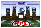 New York Giants 2012 - Four Time Super Bowl Champions Print