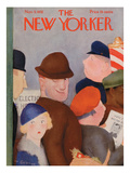 The New Yorker Cover - November 5, 1932 Regular Giclee Print by William Cotton