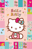 Hello Kitty-Patches Affiches